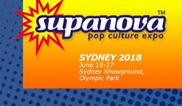 Supanova Sydney 15 - 17 June 2018