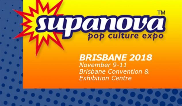 Supanova Brisbane 9-11 November 2018